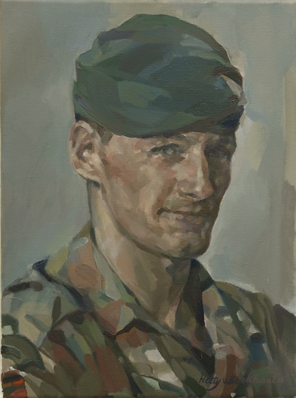 Hetty van Boekhout, Portrait Captain Richard Holloway, 2015.